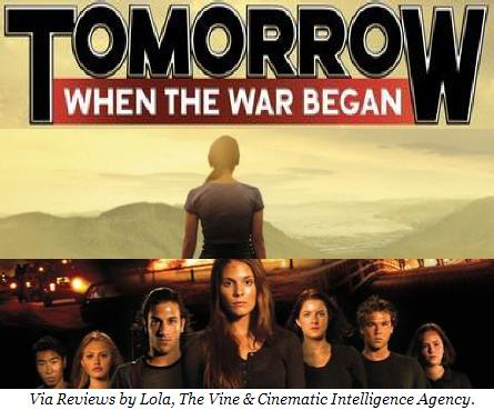 moviebook review tomorrow when the war began by john