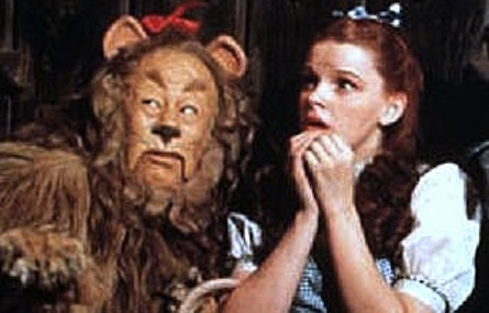 How would you complete a sentence that began with the phrase 'The Wizard of Oz is'?