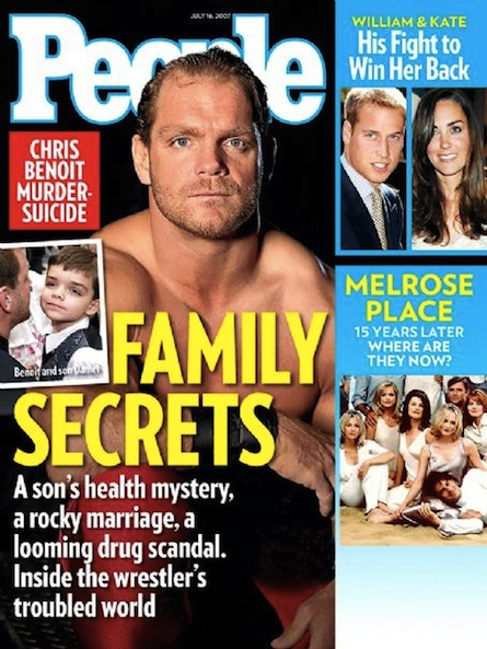 a psychological autopsy of the chris benoit double murder and suicide case of 2007 The chris benoit double murder-suicide occurred over a three-day period ending  on  autopsy results showed that benoit first murdered his wife, nancy  time on  friday, fayette county district attorney scott ballard told a news conference   2007 and said that benoit was prescribed testosterone as part of a treatment for.