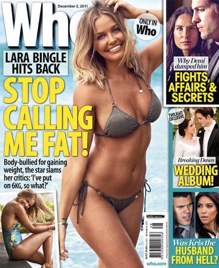 Catherine Deveny >> Magazines: Who the Bloody Hell is Body-Bullying Lara ...