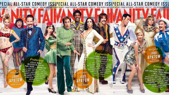 vanity fair comedy issue