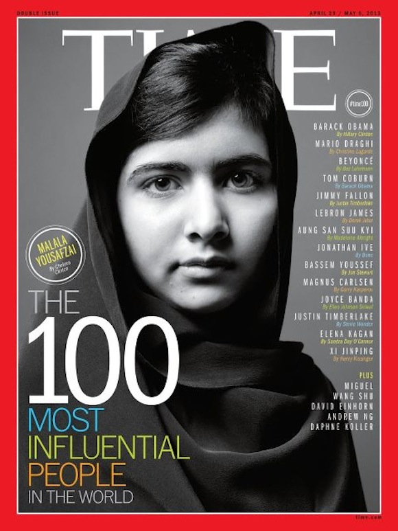 malala yousafzai time magazine 100 most influential people