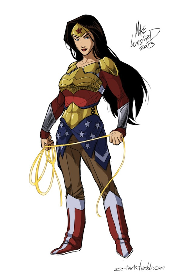 fully clothed superheroine costumes michael lunsford
