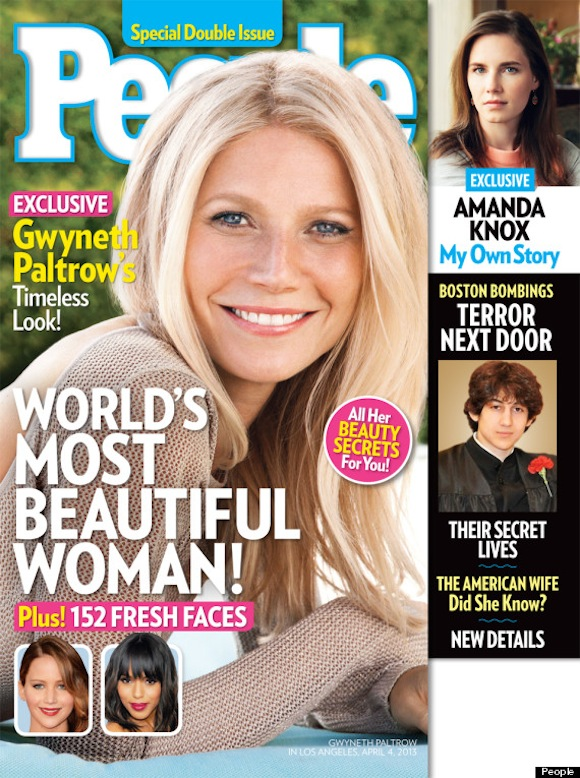 gwyneth paltrow people most beautiful woman 2013