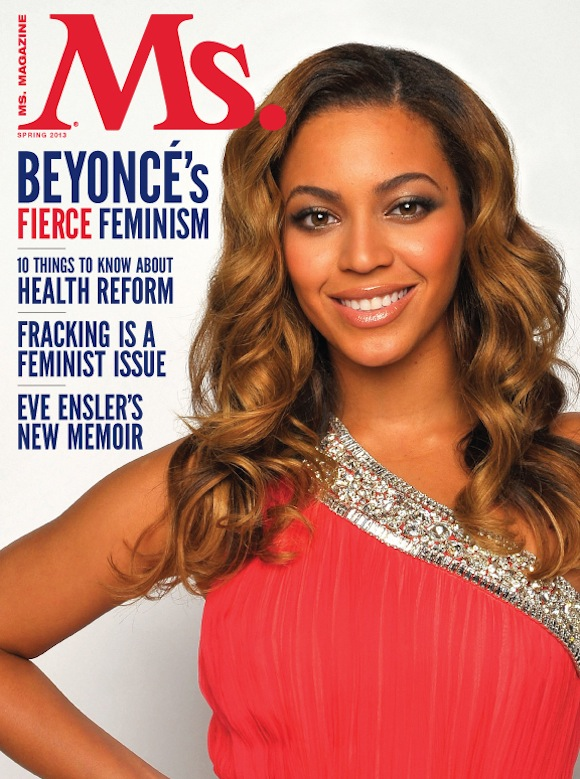beyonce ms magazine cover