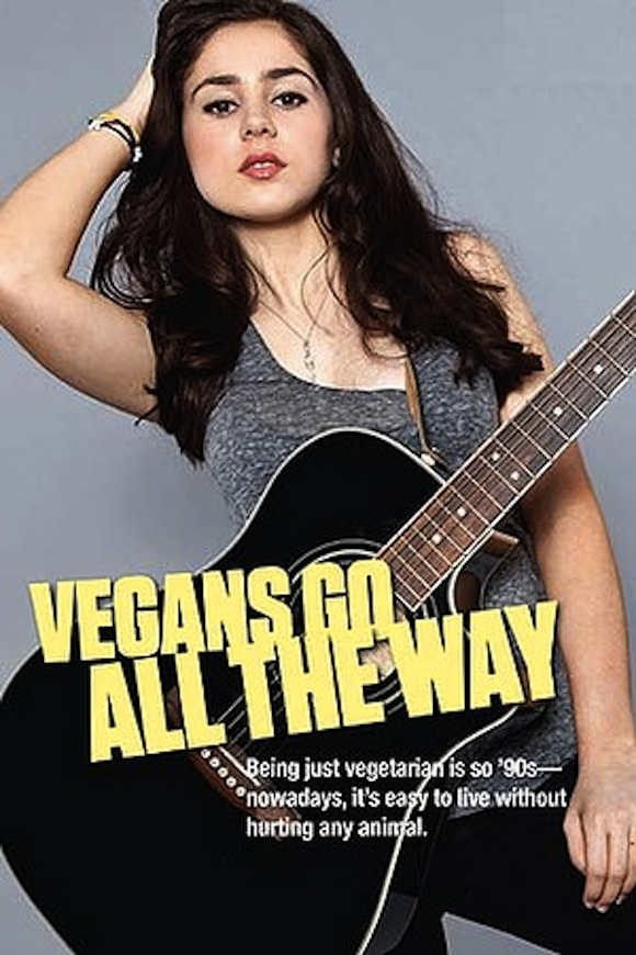 peta vegans go all the way campaign