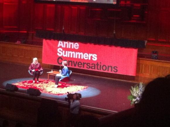 julia gillard melbourne conversation anne summers