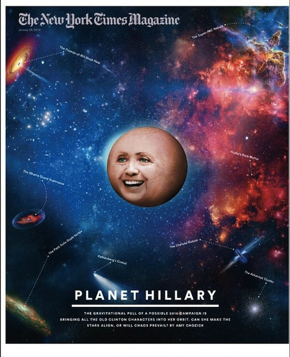 hillary clinton new york times magazine