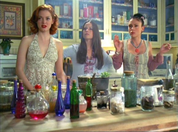 Charmed kitchen spells