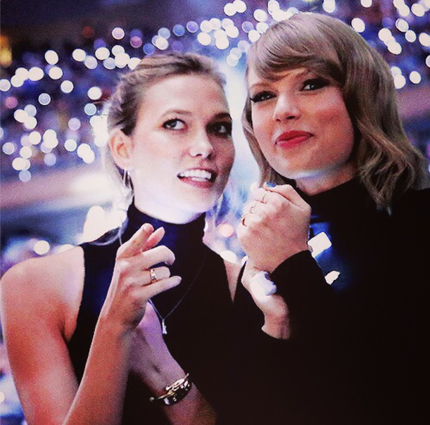 taylor swift karlie kloss instagram