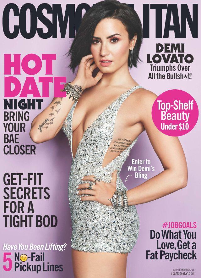Cosmopolitan Demi Lovato