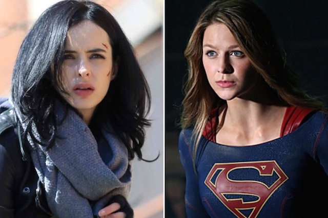 supergirl jessica jones